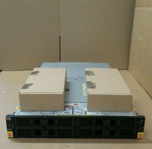New Dell PowerEdge FX2S 4x Bay Switched Blade Server Enclosure Chassis 2x FN410S